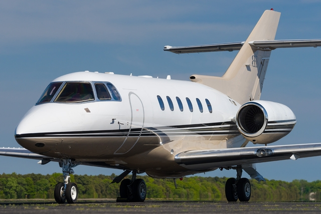Hawker 800XP  Hawthorne Corporation Airport FBO Management Consulting In
