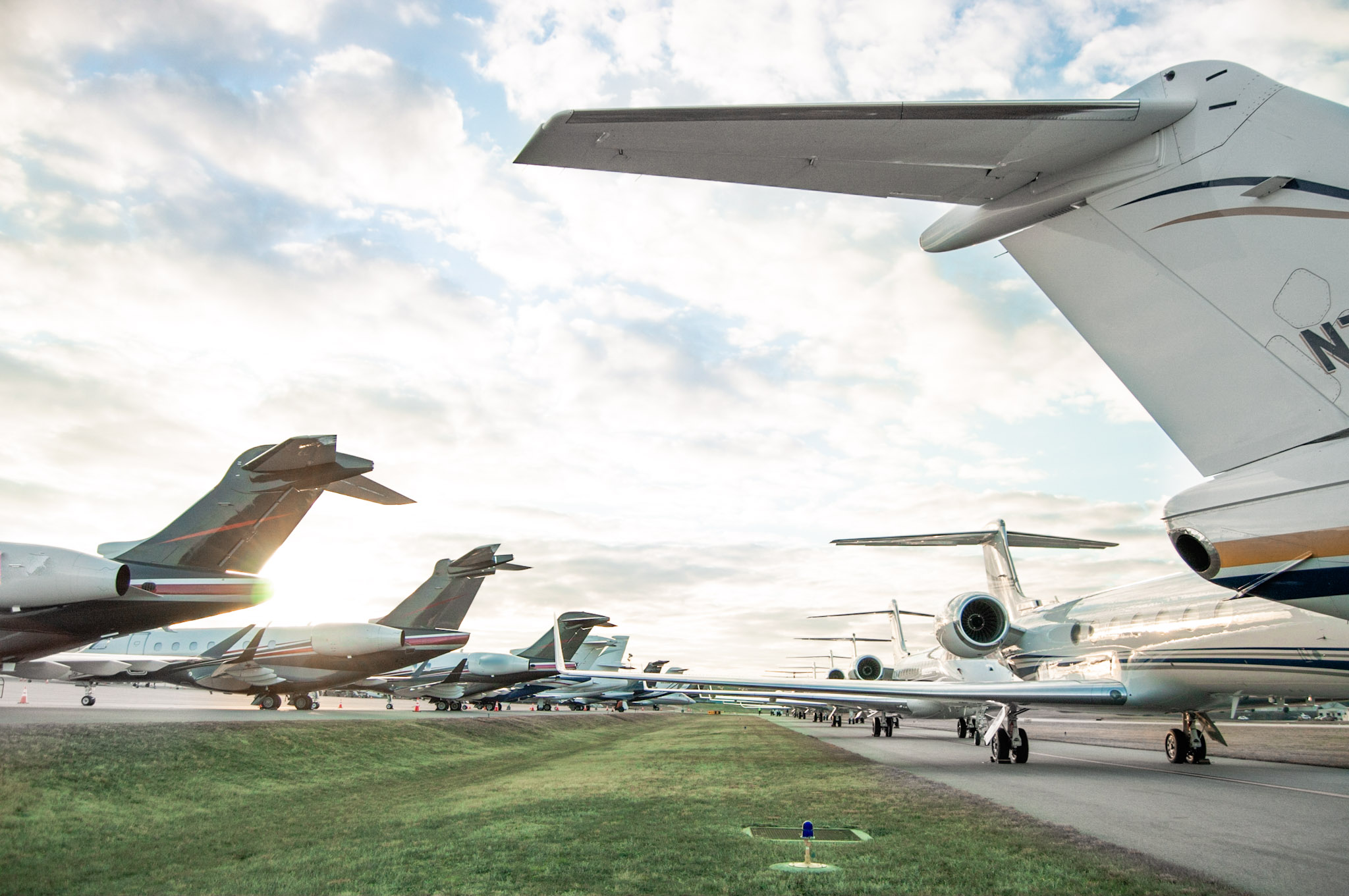 HAWTHORNE GLOBAL AVIATION SERVICES HOSTED OVER 450 AIRCRAFT